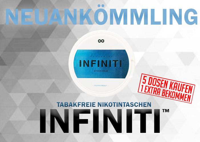 Kaufen Sie Infiniti Snus jetzt bei snus24
