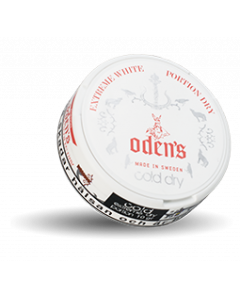 Odens Cold Extreme White Dry Chewing Bags