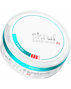 Skruf Super White Slim Fresh Strong