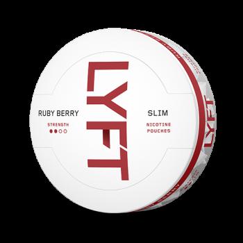 LYFT Ruby Berry Slim All White