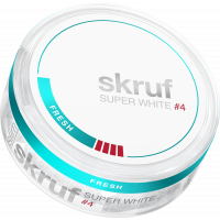 Skruf Super White Slim Fresh Extra Strong